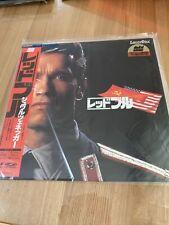 Red Heat Schwarzenegger Laserdisc Movie +$4.00 shipping for extra LD