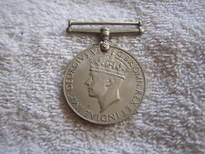 Georgivs  Vi D G BR Omn Rex Et Indiae Imp  Medal 1939–45