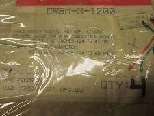 CRSM-3-1200, Raychem, 1/C wraparound heat shrinkable repair sleeve (1000V)