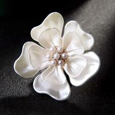 Lovely Camellia Flower Scarf Pin Fashion Jewelry Clothing Accessories Brooch