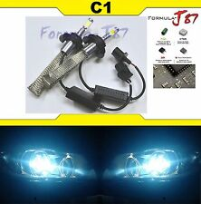 LED Kit C1 60W 9008 H13 8000K Icy Blue Two Bulbs Head Light Replace Snowmobile