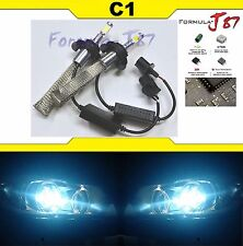 LED Kit C1 60W 9008 H13 8000K Icy Blue Head Light DUAL BEAM UPGRADE DIY COLOR