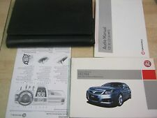 VAUXHALL VECTRA OWNERS MANUAL HANDBOOK PACK   2006-2010 INC CD30 BOOK