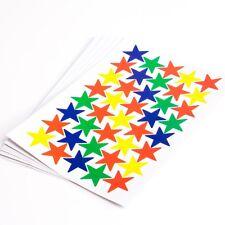 6720 X Decorative Star Shaped Sticker Set Arts & Crafts Card Making Scrapbooking
