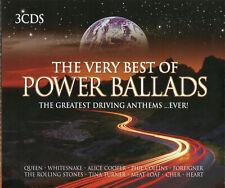 The Very Best of Power Ballads (3 x CD) The Greatest Driving Anthems Ever...NEW!