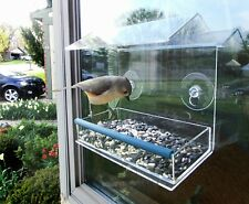 Removable Tray Clear Acrylic Window Bird feeder Great for All ages!