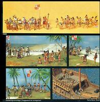 H0 Preiser 13264 Christoph Colón. 34 Figuras. Emb.orig