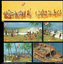 H0 Preiser 13264 Christoph Columbus. 34 Figuren. OVP