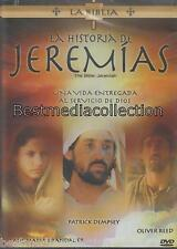 SEALED - La Historia De Jeremias DVD NEW Coleccion La Biblia BRAND NEW