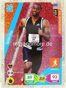 Adrenalyn XL London 2012 - #271 Tyson Gay - International Ace Foil