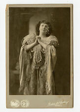 Vintage Cabinet Card Ada Rehan Irish born American actress Great comedienne