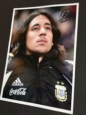 Jonas Gutierrez signed in-persona foto 20 x 30 autógrafo 2007–2011 argentina