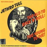 JETHRO TULL TOO OLD TO ROCK 'N' ROLL:TOO YOUNG TO DIE VINILE LP 180 GR. RSD 2016