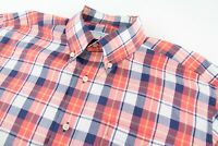 Southern Tide Mens Large Classic Fit Long Sleeve Button Down Shirt Stretch Plaid