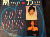 Michael Jackson And Diana Ross ‎– Love Songs Label: Telstar ‎– vinyl record