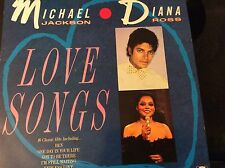 Michael Jackson And Diana Ross ‎– Love Songs !Telstar ‎– vinyl record