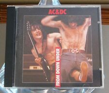 AC/DC From Down Under (Live at Hammersmith 1979)  CD - Metal Memory 1990