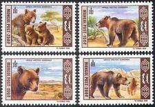 Mongolia 1998 Gobi ORSI/NATURA/Animali/Fauna Selvatica/conservazione 4 V Set (n11596)
