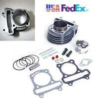 For 139QMB GY6 50cc-100cc Chinese Scooter 50mm Big Bore Cylinder Rebuild Kit