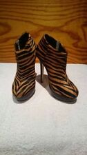 Stiletto Animal Print 100% Leather Heels for Women