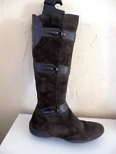 bottes, GEOX, pointure 37,5, marron, authentique