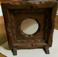 Wooden Picture or Coin Frame Stand Free Shipping