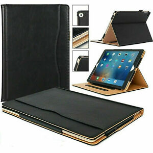 """Genuine Luxury Leather Stand Case Cover Samsung Galaxy Tab A T590 / T595 (10.5"""")"""