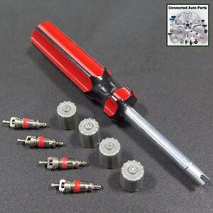 WHEEL TIRE VALVE STEM CORE VALVE CAP TOOL TIRE SENSOR TPMS Universal VP-GM01