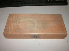 Used Vintage Sotar 20/20 Air-Brush Made in USA Wooden Box