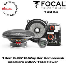 "Focal Access 130AS 13cm 5.25"" 2-Way Car Component Speakers 200W Total Power"