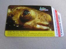 CUBA Urmet used magnetic card Fish