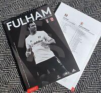 Fulham v Middlesborough Matchday Programme 18/1/2020! FREE POSTAGE WITHIN U.K.!!