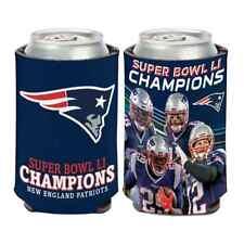 New England Patriots 2017 Super Bowl LI Champions Players Can Cooler Koozie