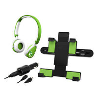 Car Mount, Car Charger & Headphones XL Kit for 7-10 Inch Tablets (C13505GI)