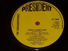 "The Grahamophones:  Chinese Laundry Blues  1987     Near mint 7"""
