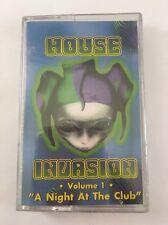 HOUSE INVASION MIXTAPE CASSETTE