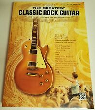 GREATEST CLASSIC ROCK GUITAR TAB SONGBOOK TABLATURE ZEVON BAND KINKS 39 SONGS