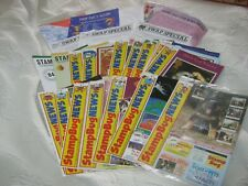 Vintage Stamp Bug Royal Mail Magazines/Album Pages (20 pieces)- 1991-1993