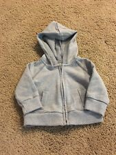 New wo Tags*Cherokee*Target*Newb orn*Jacket*Hoodie*Gray*Zip per*Tiny and Adorable