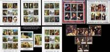 legendary PAINTINGS x7 M/S + 6 s/s + 5 STAMPS MNH