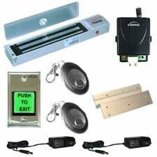 600lbs Inswing Access Control Door System with Maglock with Wireless Receiver