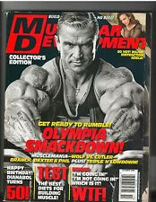 MUSCULAR DEVELOPMENT bodybuilding magazine Lee Priest /HOT Adela Garcia 10-08