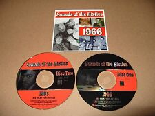 Sounds Of The Sixties 1966 2 cd 36 track 2002 Time Life Excellent Condition Rare