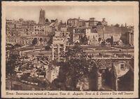 AA5222 Roma - Città - Panorama coi mercati di Traiano - Cartolina - Postcard