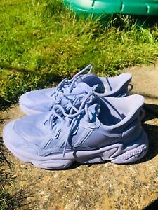 ADIDAS OZWEEGO WOMENS PALE PURPLE TRAINERS SIZE 6 WORN ONCE
