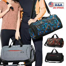 Men's Waterproof Travel Duffle Bag Sports Gym Carry on Shoulder Handbag Luggage