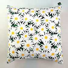"""Daisy Flower Floral Cushion Cover Decorative Trendy Case fits 18"""" x 18"""""""