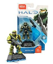 Mega Construx HALO Master Chief Mark V Armor #FVK23 24 Pcs New in Package