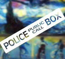 Dr. Who Tardis police call box DECAL Sticker Instant Pot Car Window vinyl