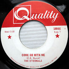 ETERNALS doowop 45 COME GO WITH ME LOVE ME WITH ALL YOUR HEART mint minus e9410